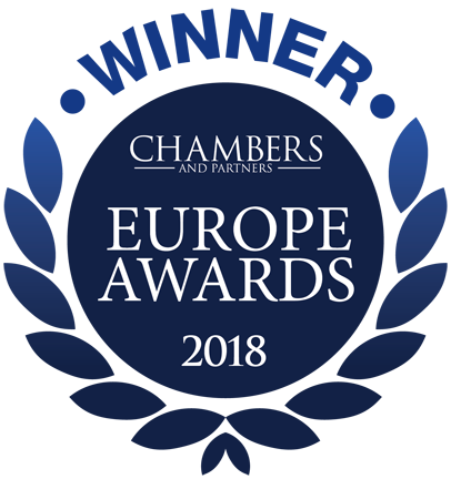 Chambers Europe Awards Winner 2018